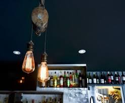 salvaged lighting fixtures. light fixture made from pulley | priority public house edison bulb fixtures salvaged lighting s