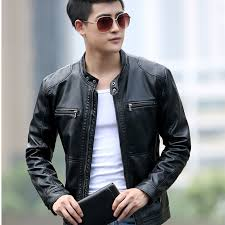 leather jackets plus size 2018 men leather jackets spring autumn imitation sheepskin leather
