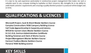 Resume Wonderful Construction Superintendent Resume Resume Entry