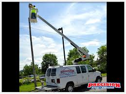 Parking Lot  Building Lighting Service Precision Sign  Awning - Exterior sign lighting