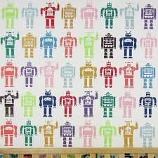 kid wallpaper usa mylar. Robots-allover-stencil-nursery-boys-DIY-wallpaper-walls Kid Wallpaper Usa Mylar A