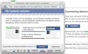 Facebook Login Sign In Login Leicht Gemacht Single Sign On Mit Facebook Twitter Und Dem