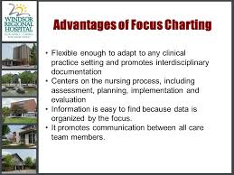 Nursing Charting Systems Focus Charting The Focus Charting System Is The Accepted