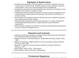 Examples Of Nurse Resumes New Registered Nurse Resume Sample 37