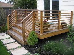 horizontal deck railing design diy deck building horizontal deck railing ideas