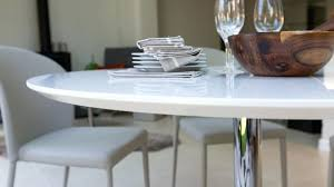 exotic high gloss dining table round high gloss dining table simple dining table with bench with