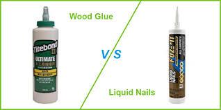 wood glue vs liquid nails which is