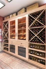 wine rack cabinet plans.