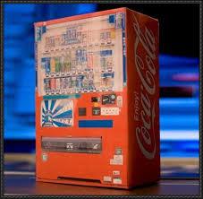 Free Coke Vending Machine Awesome CocaCola Vending Machine Free Papercraft Download