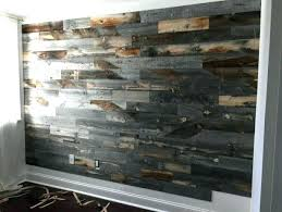 reclaimed wood accent wall reclaimed wood accent wall home and space decor in bathroom