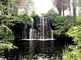 Stobo Japanese Water Garden: Japanese water garden - waterfall