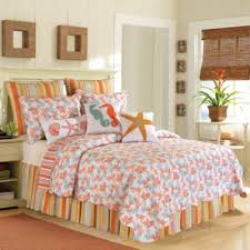 Buy Coral Colored Queen Bedding from Bed Bath & Beyond & Catalina Full/Queen Quilt in Coral Adamdwight.com