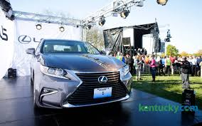 Georgetown Toyota plant debuts new Lexus line with 3,000 employees ...
