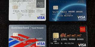 four usa issued chip and pin cards charles schwab bank visa debit