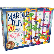 70 piece marble run house of marbles