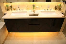easy under cabinet lighting. LED-lighting-under-the-bathroom-cabinet Easy Under Cabinet Lighting