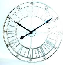 wall mirrors wall mirror clock clocks new home decoration quartz metal fashion with large mirrored