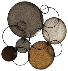 abstract floating rings and circles