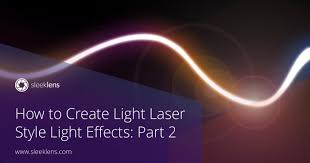 How To Remove Light Streaks In Photoshop How To Create Light Laser Style Light Effects In Adobe Photoshop