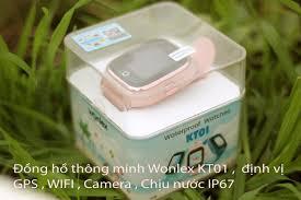 Đồng hồ thông minh Wonlex KT01 , camera , chịu nước IS67 - KT01