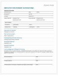 employee discipline template employee discipline form template radiofama eu