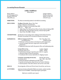 Accounting Student Resume Sample Free Resume Templates
