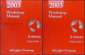 2003 ford econoline van club wagon wiring diagram manual original related items