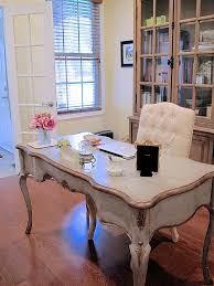 home office study. french country study styling ideas to work as both a home office and family