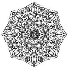 Small Picture Spiritual Mandala Coloring Pages Flower Page adult