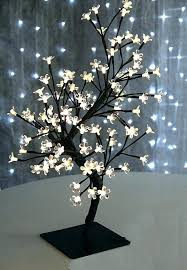 led tree lamp led tree lamp bonsai tree inch warm white lighted tree floor lamp led