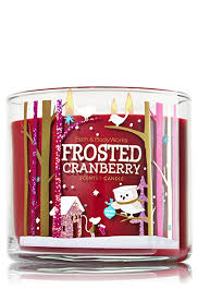 frosted cranberry candle bath and body works bath body works frosted cranberry 14 5 oz 3 wick scented candle