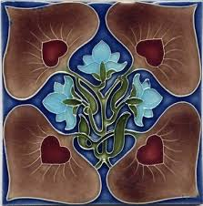 Arts And Crafts Decorative Tiles 100 best Nouveau Arts Crafts Tile images on Pinterest Art tiles 98