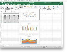 excel 2016 helps you pick the right chart by yzing your data and presenting a list of charts you can use to visualize that data