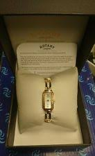 rotary solid gold watch rotary elite w s solid 9ct gold watch bracelet diamond set case reduced