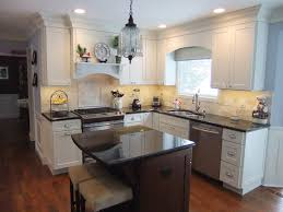 white cabinets in small kitchen