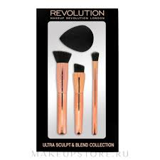 <b>Makeup Revolution</b> Ultra Sculpt & Blend Sponge <b>Brush</b> Collection ...