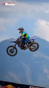 Motocross Biker Mud Racing Iphone Wallpaper Motocross Jump
