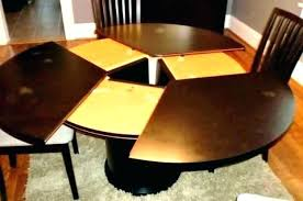 expandable square table expandable wood dining table round be equipped oval dark solid square extending expandable