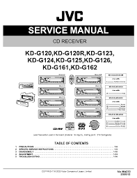 jvc kd g wiring diagram jvc automotive wiring diagrams