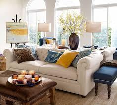 Pottery Barn Living Room Furniture Chesterfield Upholstered Sofa 218 Cm Pottery Barn Au
