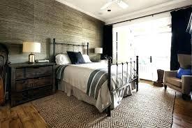 modern rustic bedroom design home improvement