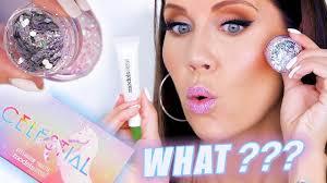 glitter glue makeup what
