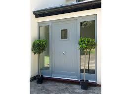 front doors. Contemporary Blue Timber Front Door Doors