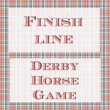 Wooden Horse Race Game Pattern Mesmerizing DIY Horse Racing Game Derby Party Game Cleverly Inspired