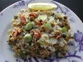 2bleu s lemony rice with peas  risi e bisi