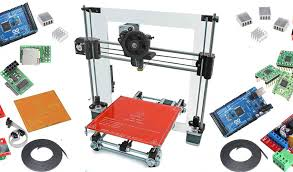 collecting the diy 3d printer parts