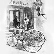 Who Made The First Car Benz Patent Motor Car The First Automobile 1885 1886