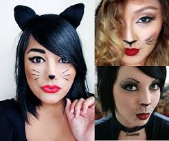 kitty cat makeup look this