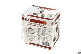 Hbm 3watt Cob Led Lamp Met Sensor 220 Lumen Op Batterijen