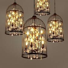 birdcage pendant light copper